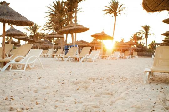Djerba: Strand Sandy