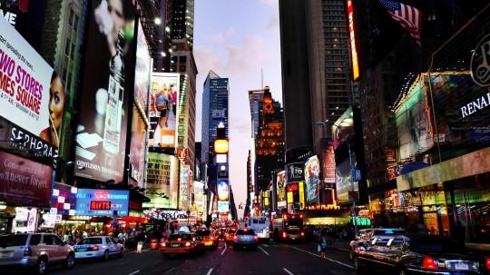 New York: Times Square Night