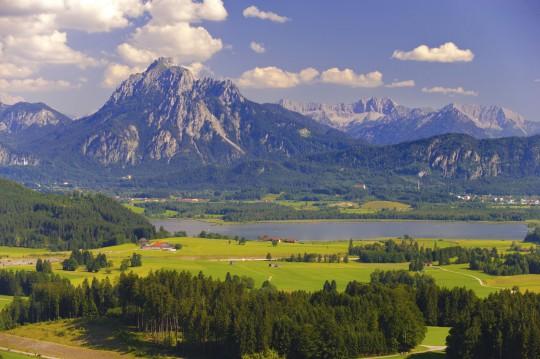 Allgäu: Panorama