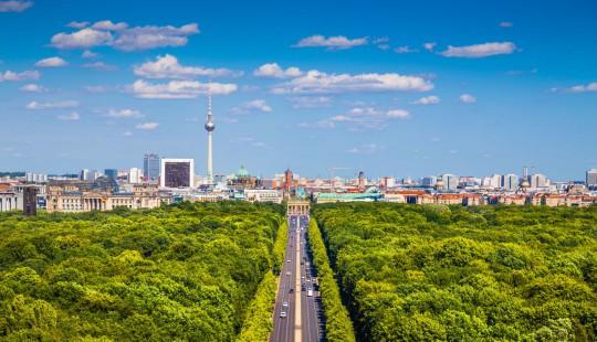 Berlin: Tiergarten im Sommer