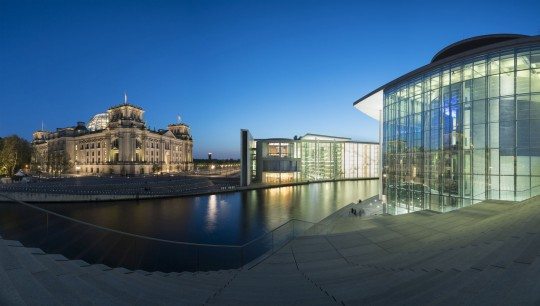 Berlin: Regierungsgebäude
