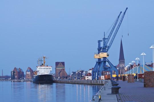 Ostsee: Hafen