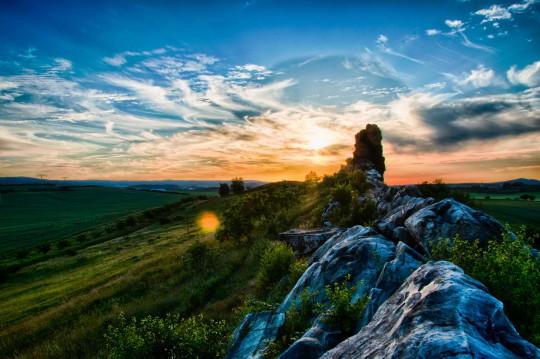 Harz: Teufelsmauer