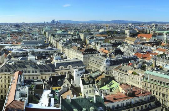 Wien: Skyline