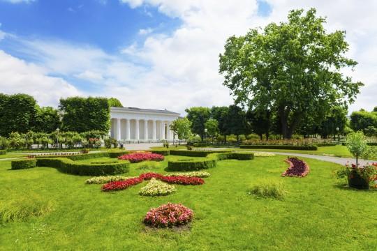 Wien: Volksgarten