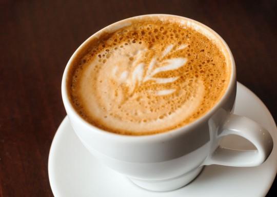 Wien: Cappuccino Tasse