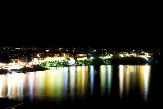 Sonnenstrand: Sozopol bei Nacht