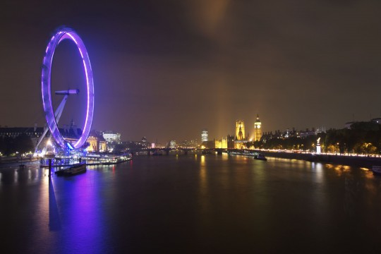 London: London Eye & River Thames