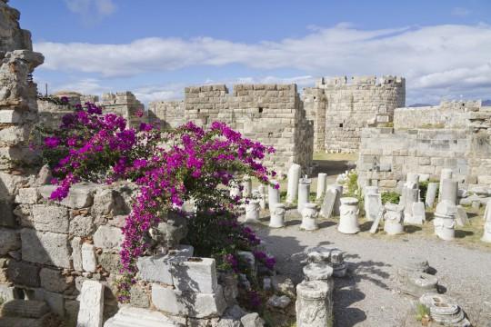Kos: Historische Ruinen