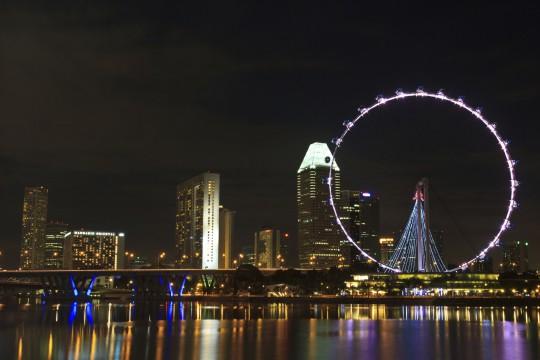 Singapur: Singapore Flyer