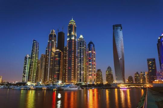 Dubai: Marina Skyline