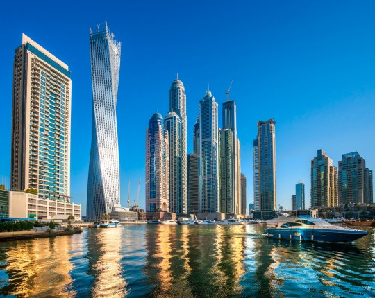 Dubai: Wolkenkratzer