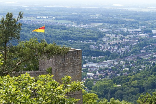 Baden-Baden: Burgruinen