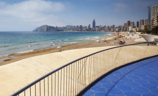 Costa Blanca: Playa de Poniente